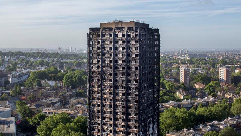 Hochhausbrand London