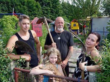 RESSORT: Lokales / SamSon..DATUM: 21.06.17..FOTO: Michael Matejka ..MOTIV: Familien mit Schrebergarten..ANZAHL: 1 von 29..Veröffentlichung nur nach vorheriger Vereinbarung