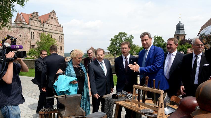 Herrschaftszeiten! Burgerlebnismuseum in Cadolzburg eröffnet