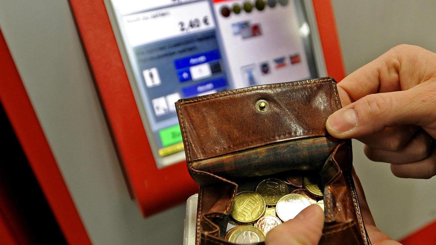 Als erstes hatten die Grünen in Nürnberg ein Ticket gefordert, dass pro Tag nur einen Euro kostet. (Symbolbild)