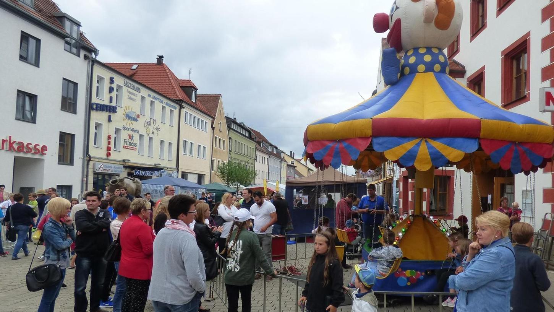 Das Resümee von Eugen Eckert, Vorsitzender des Stadtverbandes, zum Bürgerfest fällt nach dem Wochenende positiv aus, auch wenn das Wetter besser hätte sein können.