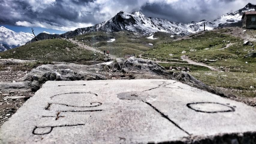 Hier wurden auch die Grenzssteine zwischen Österreich und Italien gesetzt.