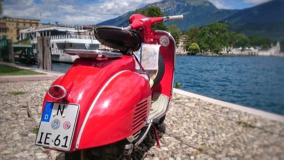 Mit der Vespa im Zweitaktrausch zum Gardasee knattern