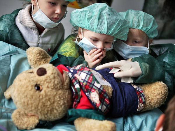 Kind Krankenhaus