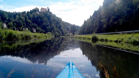 Flussfahrt: Mit dem Kajak durch die Fränkische Schweiz