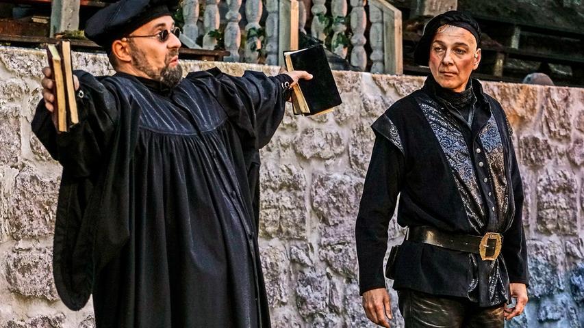 RESSORT: Pegnitz B1a Lokales..FOTO: HvD..MOTIV: Faust-Festspiele Pegnitz, Premiere mit Johann Wolfgang von Goethes
