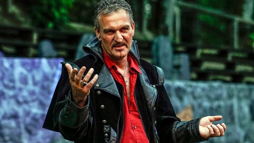 Auch wenn die Faust-Festspiele im Sommer 2021 wieder zurückkehren sollen: Uwe Vogel wird in Pegnitz nicht mehr als Mephisto auftreten.