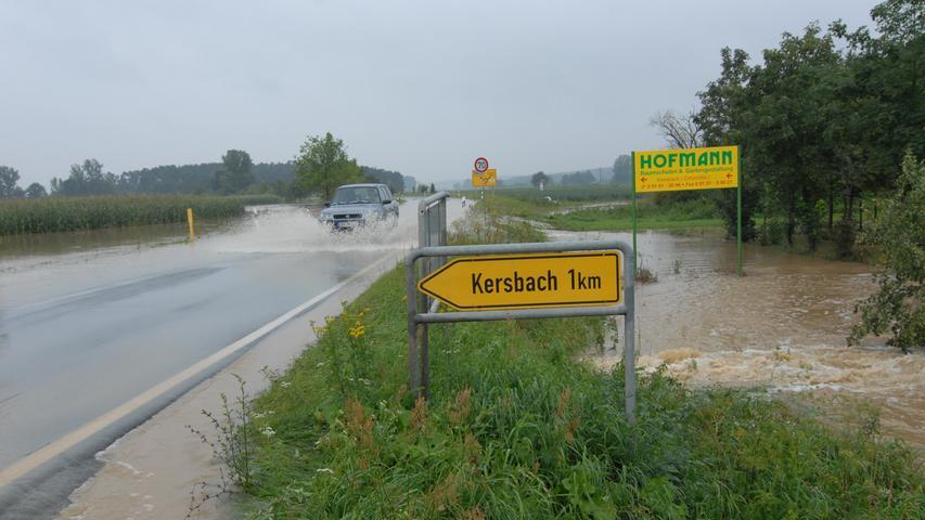 Ressort: B1..Motiv: Unwetter in Forchheim und Umgebung, Mülldeponie in Gosberg, Anlieferung von nassen Hausrat..Foto: Lenk..Datum: 230707