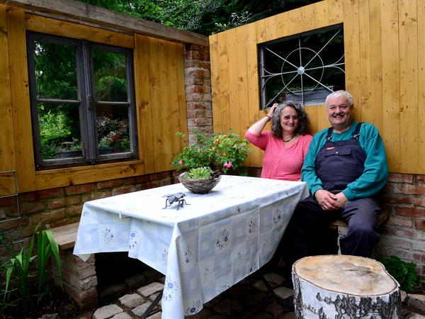 FOTO: Hans-Joachim Winckler DATUM: 3.7.2017..MOTIV: Gartenserie Samson Familie Kirschbaum Ammerndorf