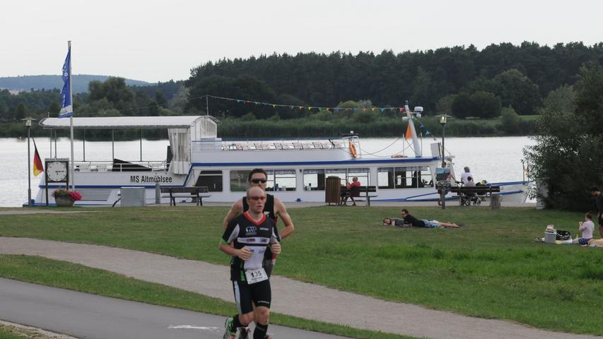 Foto: Mathias Hochreuther Motiv: Altmühlseelauf 2017 Datum: 7/17 Halbmarathon