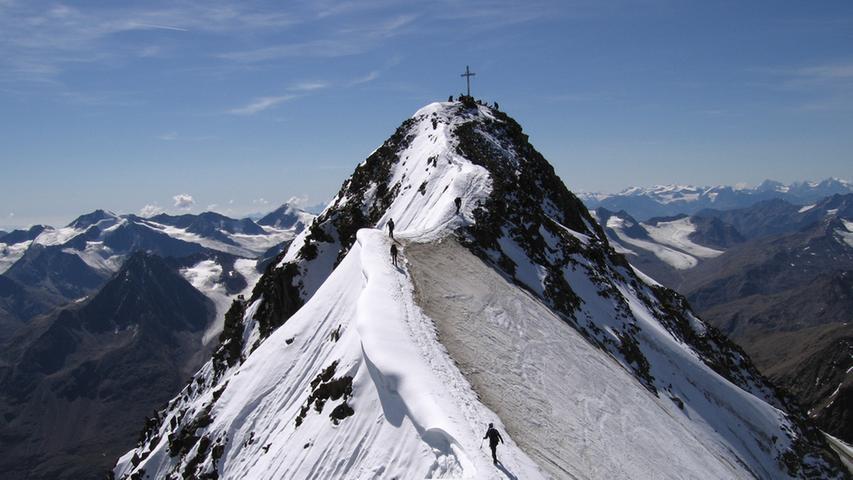 Österreich: An der Wildspitze vom Gletscher verschluckt