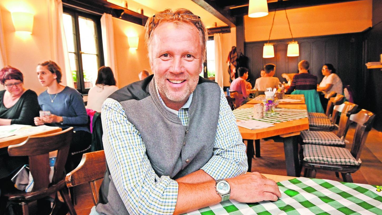 Fränkische Küche, Bratwürste und Schäufele gibt es ab sofort im rundum renovierten Restaurant