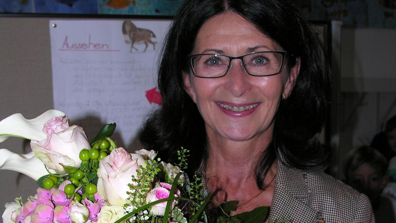 Hat in den vergangenen zwölf Jahren das schulische Leben in Gnotzheim maßgeblich geprägt: Ingrid Pappler.