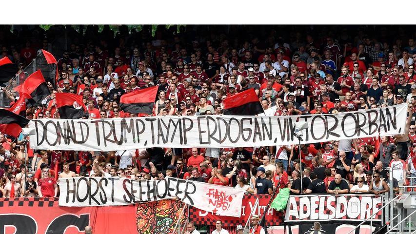 Bissig, politisch, bunt: Ultras Nürnberg melden sich fulminant zurück