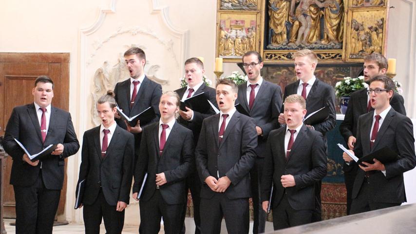 Sonat-Vox in der Kirche des Augustinerklosters Pappenheim
