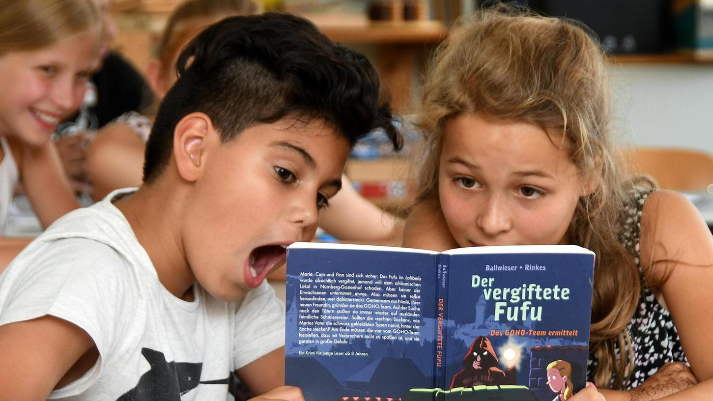 """Boah, wie spannend! Die Viertklässler waren von ihrer Klassenlektüre """"Der vergiftete Fufu"""" begeistert."""