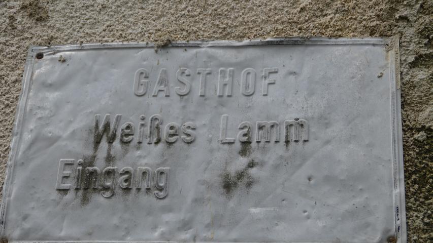 Ob wohl der Schriftsteller Bert Brecht einst diesen Eingang zum Gasthof