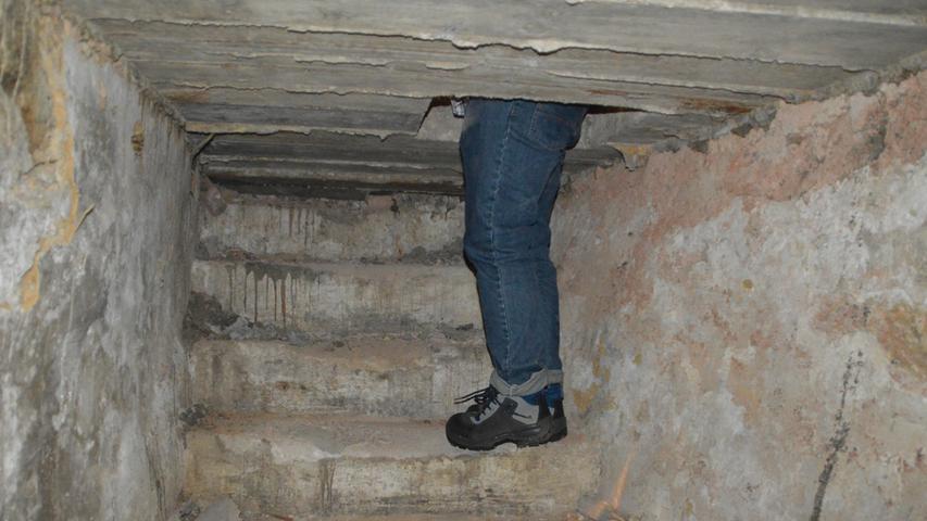 Der Einstieg in die Unterwelt war mitunter schwierig.