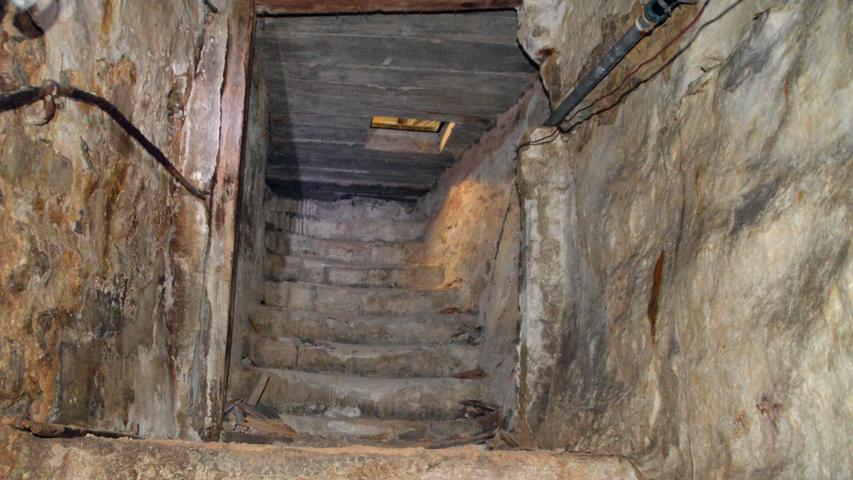 Im Bereich der Brauhausgasse finden sich unter den Häusern und Straßen zahlreiche hochinteressante Keller.