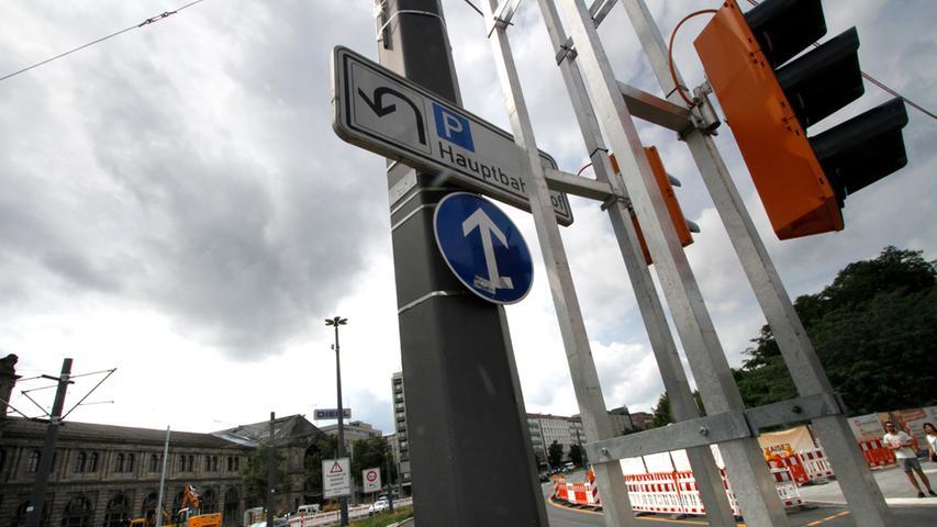 LOKALES Foto: Eduard Weigert Datum: 2.8.17..Hauptbahnhof Baustelle Verkehr Behibderungen