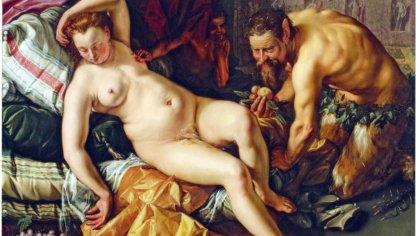 Das Gemälde «Jupiter und Antiope» (1612) von Hendrick Goltzius wurde in New York versteigert.