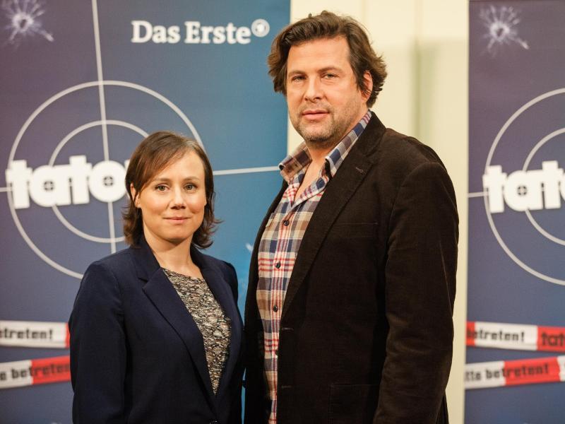 Die neuen «Tatort»-Ermittler:Eva Löbau als Kommissarin Franziska Tobler und Hans-Jochen Wagner als Kommissar Friedemann Berg