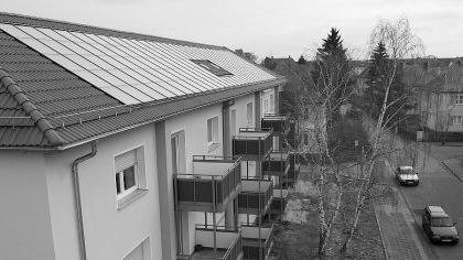 Die Solaranlagen auf den Neu- und renovierten Altbauten der Gewobau sind zu einer wichtigen Stütze des Erlanger Solarprogramms geworden.