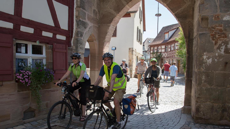 Ob in der Freizeit oder am Weg zur Arbeit: Olaf Höhne ist immer mit dem Rad unterwegs. Fotocredit