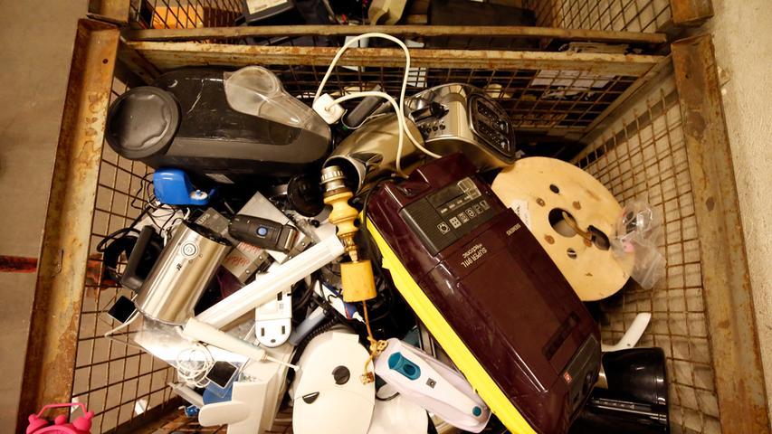 Kostbarer Müll: Hier landest Elektroschrott in Erlangen