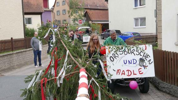Kirchweih in Birkenfeld: Die Jugend bewahrt den Brauch