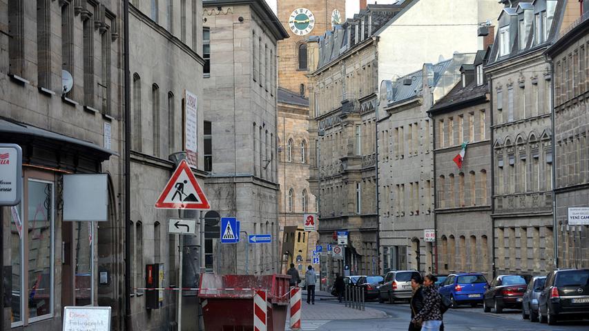 Die Hirschenstraße putzt sich heraus
