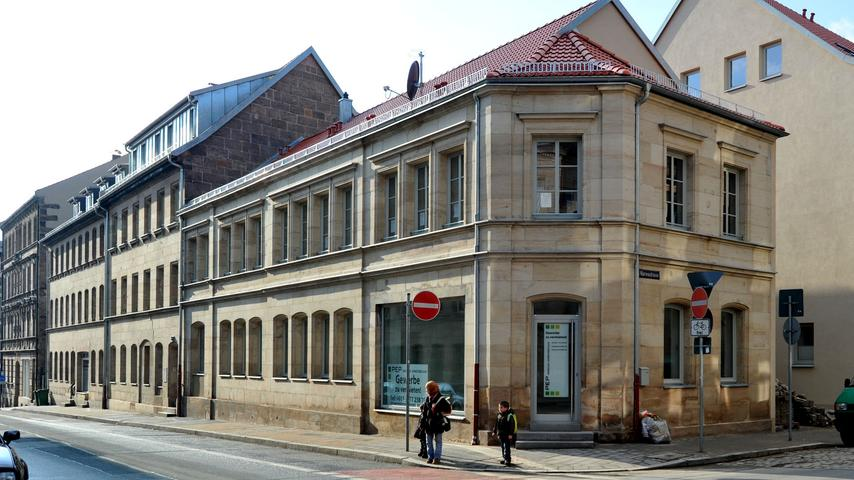 Die Hirschenstraße putzt sich heraus - Haus Nr. 38-40