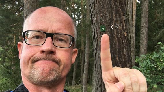 Ab nach Abenberg: Wanderreporter Georg ist gestartet