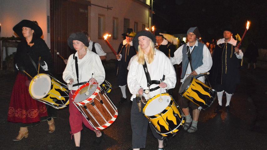Rauschendes Tillyfest in Breitenbrunn
