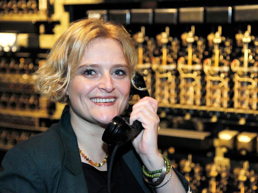 Motiv: Portrait Chefin im Museum für Kommunikation Nürnberg, Marion Grether. Datum: 10.01.2013 Foto Roland Fengler