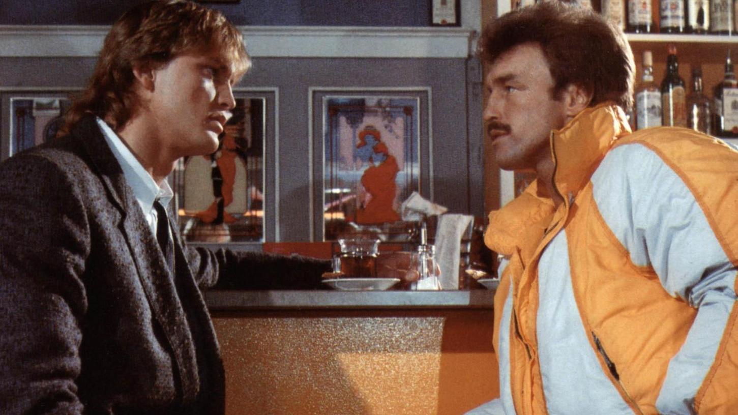Mit Vokuhila und Oberlippenbart kämpften sich Peter Althof und René Weller durch den ersten Film.