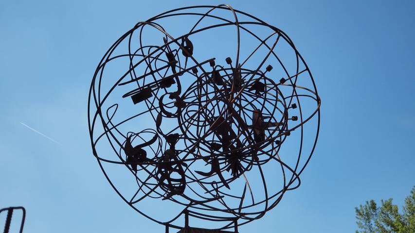 Neue Kunstwerke im Treuchtlinger Kurpark