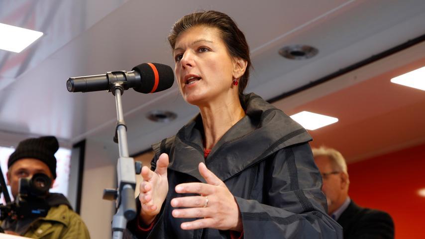 Sahra Wagenknecht in Nürnberg: Die Bilder vom Auftritt