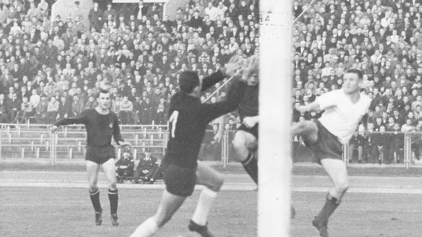Nur vier Spieltage später, am 25. Oktober 1965, folgte die nächste Galavorstellung der Nürnberger.