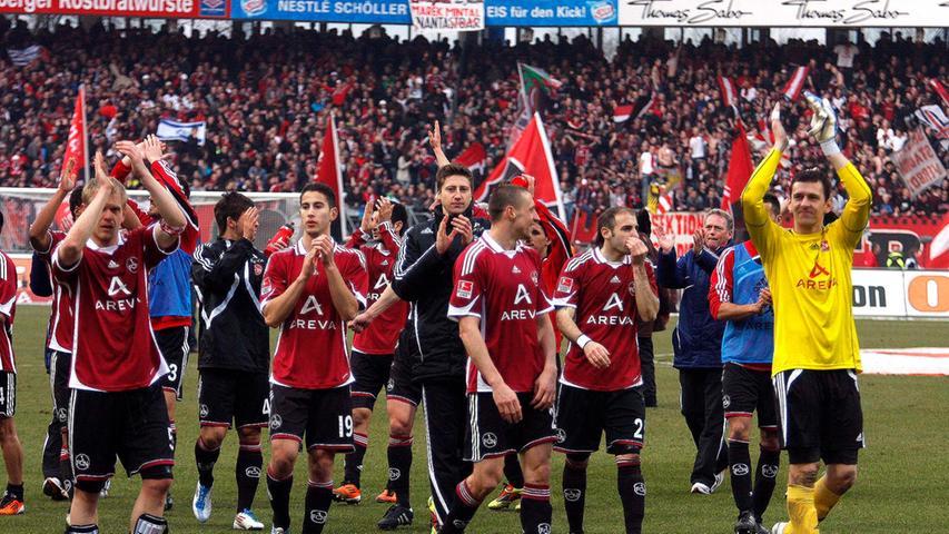 Der Club blieb durch das 5:0 im siebten Spiel in Folge ungeschlagen und durfte sogar von Europa träumen. Am Ende reichte es aber