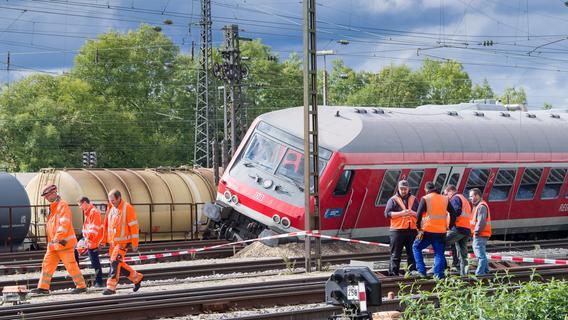 Augsburg Zugunfall