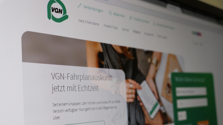 Nürnberg Komplett Neue Website Vgn Preist Echtzeitauskunft