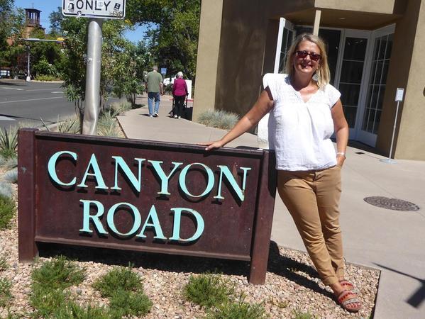 In der Canyon Road lebt Milena Moser.