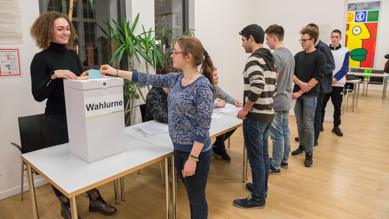 Bei der Juniorwahl läuft alles so ab wie bei den Wahlen der Erwachsenen.