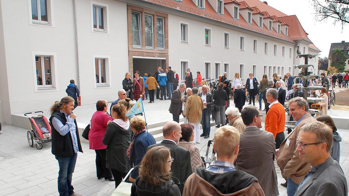Die Einweihung des neuen Gemeindehauses in St. Markus stieß auf zahlreiches Interesse.
