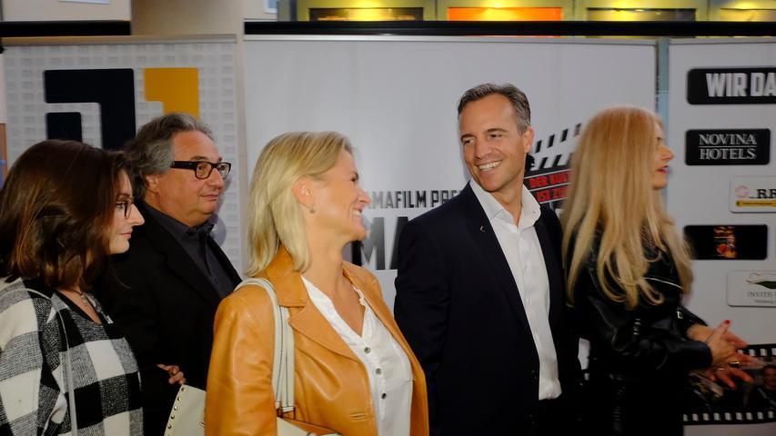 Lokales..Foto: Guenter Distler..Motiv: Macho Man 2-Premiere mit rotem Teppich; Cinecitta; 27.09.2017