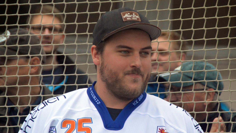 Der Ex-Amberger Daniel Krieger stand schon lange auf der Wunschliste des EV Pegnitz.