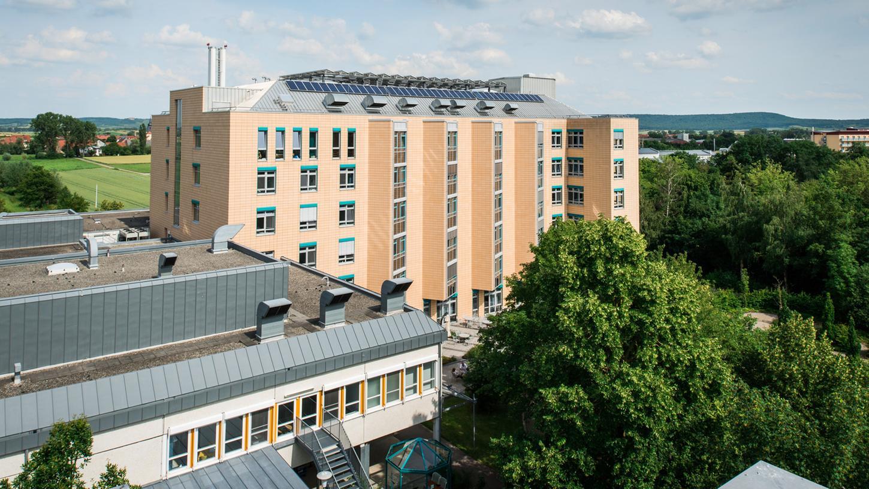 Landrat und Klinikvorstand legten Situation des Krankenhauses in Bad Windsheim dar.