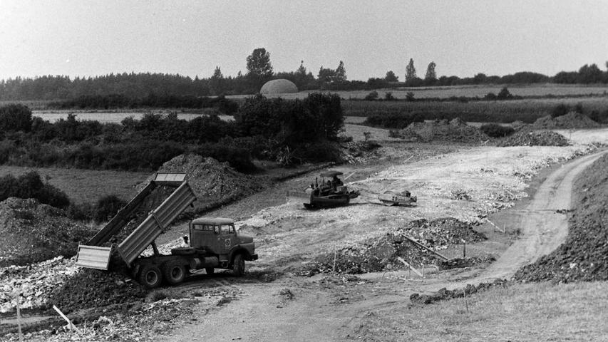 Eine Garnison hat die Stadt Pegnitz zwar bis heute nicht, vor 40 Jahren aber wurde zumindest eine