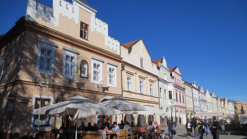 Schmucke Städtchen mit historischer Bausubstanz laden nach Südböhmen ein.